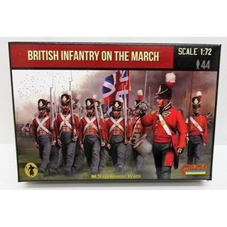 British Infantry On The March