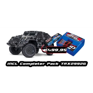 TRX4 Tactical Crawler Including Completion Pack