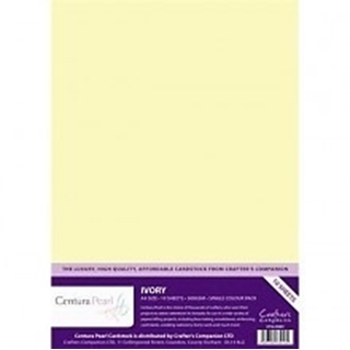 Centura Pearl Single Colour 10 Sheet Pack - Snow W