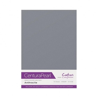 Centura Pearl Single Colour 10 Sheet Pack - Anthra