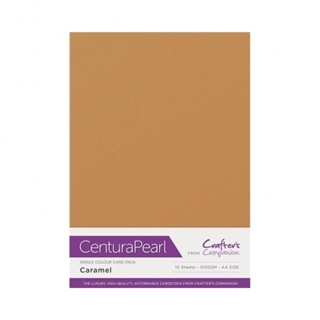 Centura Pearl Single Colour 10 Sheet Pack - Carame
