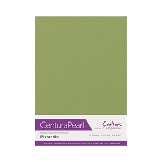 Centura Pearl Single Colour 10 Sheet Pack - Pistac