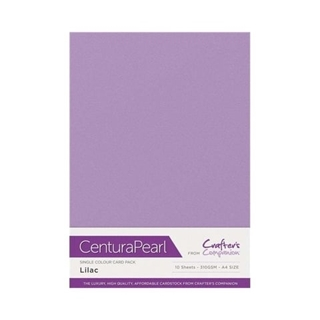 Centura Pearl Single Colour 10 Sheet Pack - Lilac