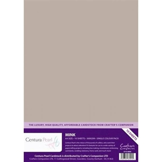 Centura Pearl Single Colour 10 Sheet Pack - Mink