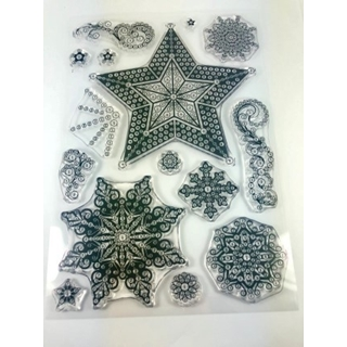 Crystal Art Stamps Twinkling Festive Sky
