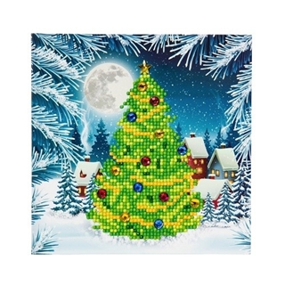 Crystal Card Kit ® Diamond Painting Xmas Trees