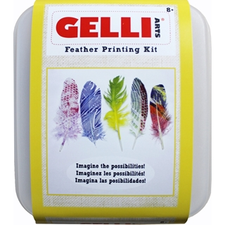 Gelli Arts® Feather Printing Kit