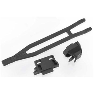 Battery Hold-Down (1)/ Hold-Down Retainer, Front &