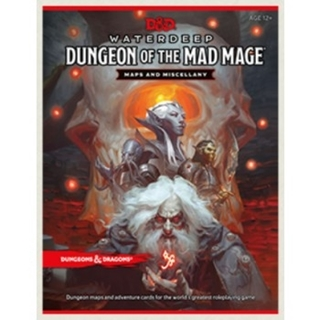 D&D RPG - Dungeon of the Mad Mage Maps and Miscell