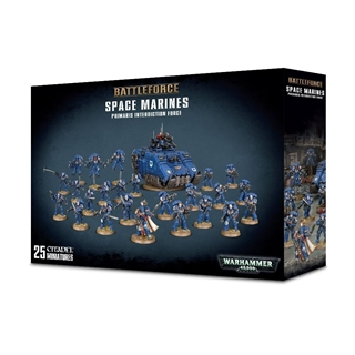 Space Marines Primaris Interdiction Force