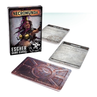 Necromunda:Escher Gang Cards