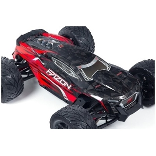 Arrma - Body Painted Red w/Decals - Fazon 6S BLX