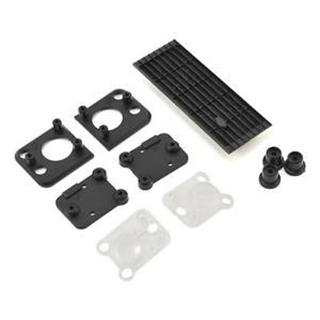 Grill, Land Rover Defender/ grill mount (3)/ headl