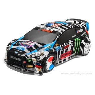 HPI racing Ford Fiesta Clear Body