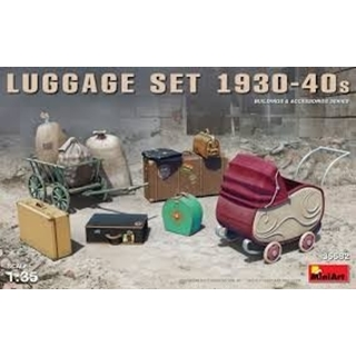 Luggage Set 1930-40s 1/35