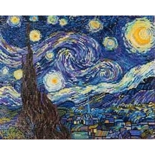 Starry Night (Van Gogh)  50,8x40,6cm