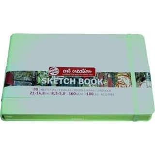 Talens Art Creation Schetsbook wit 14,8x21 140gram