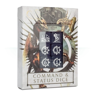 Warhammer Age of Sigmar Command & Status Dice