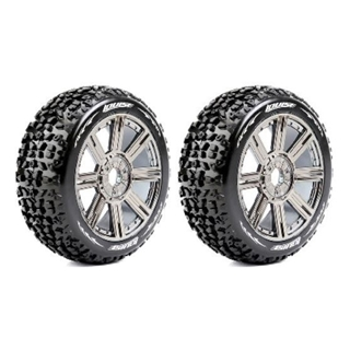 1/8 Off Road Buggy Tires Mounted Hex 17mm