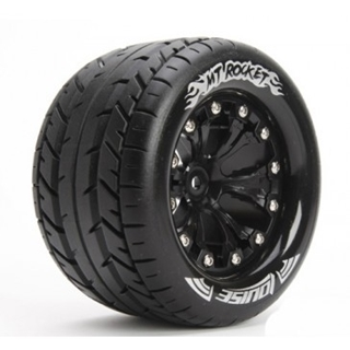 1/10 Monster Truck Tires Mounted Hex 12mm