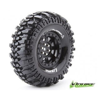 """1/10 Scale 1.9"""" Crawler Tires Mounted Hex 12mm"""