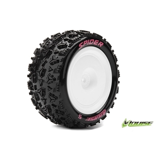 1/10 Buggy 4WD Rear Tires Mounted 12mm