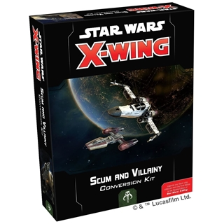 Star Wars X-Wing 2nd Edition Scum and Villainy Con