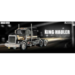 King Hauler 1/14 Tractor Truck Black edition