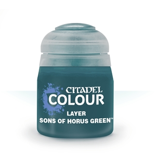 22-87: Layer:Sons Of Horus Green (12ml)