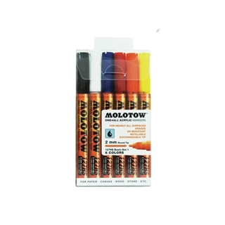 MOLOTOW ONE4ALL MARKERSET 127HS 2MM BASIC