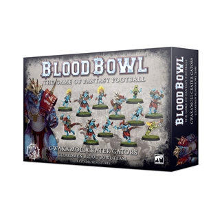 Gwaka'moli Crater Gators - Lizardmen Blood Bowl