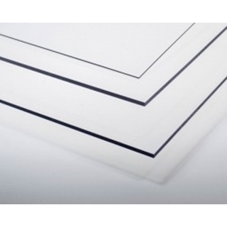 Kunststoffplatte Polyester transparent 1mm