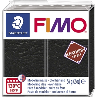 FIMO® Leather Effect Zwart