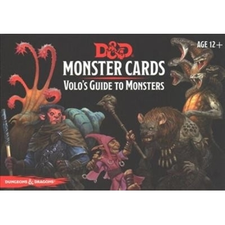 Volo's Guide to Monsters,  Monster Cards, D&d