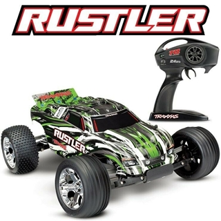 Rustler XL (Batt/Charger not incl) Groen