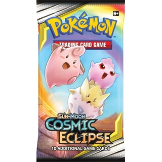 Pokemon Sun & Moon Cosmic Eclipse : Booster