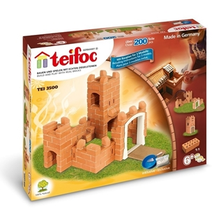 teifoc brick construction - castle