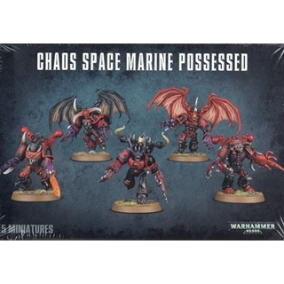 Chaos Space Marine Possed