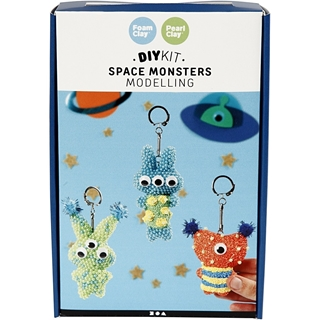Space Monsters, boetseren, 1set