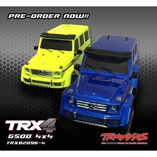 TRX-4 Mercedes G500 4x4 Blue ( Not the final price)