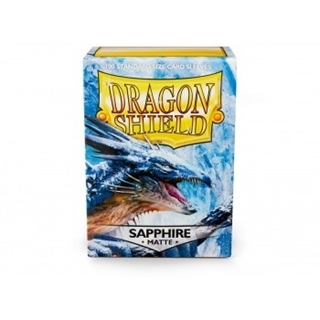 Dragon Shield Matte Sleeves - Sapphire