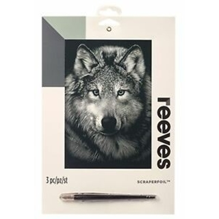 Reeves Silver Scraperfoil Wolf