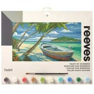 Paint By Numbers Tropical Beach