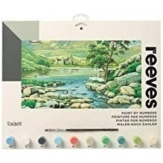 Paint By Numbers Scottish Glen