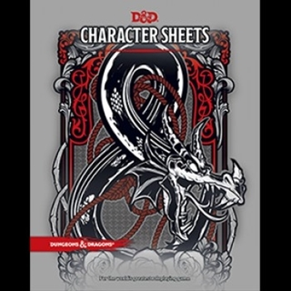 Dungeons & Dragons RPG - Character Sheets