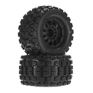 "Badlands MX38 3.8"" All Terrain Tires Mounted"