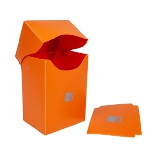 Deck Holder Vertical - for 80+ Cards - Orange