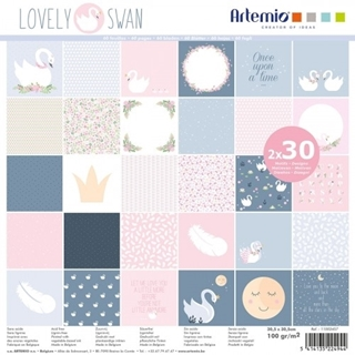 60 Pages 170 g Lovely Swan