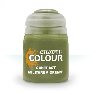 29-24: Contrast: Militarum Green (18ml)