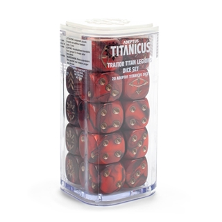 TraitorTitan Legions Dice Set